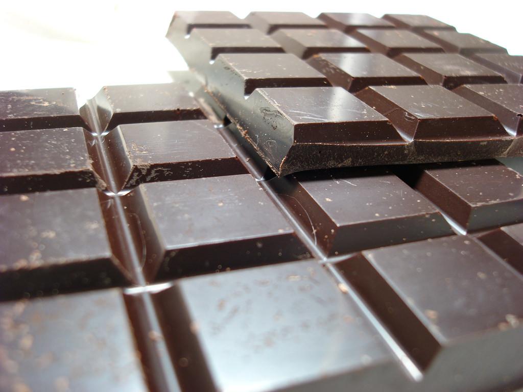 ¿Qué hay en mi alimento? Barra de chocolate