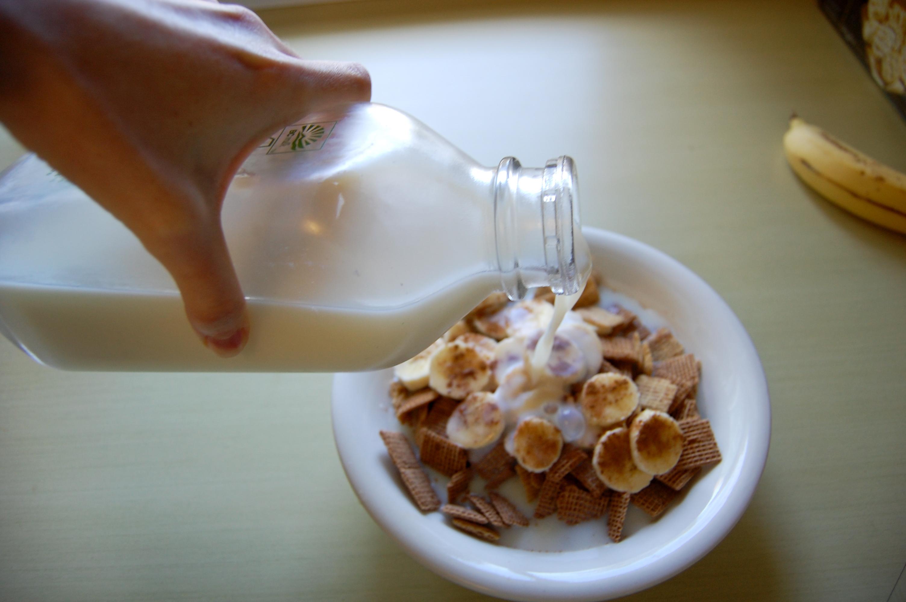 La pasteurización y las propiedades de la leche