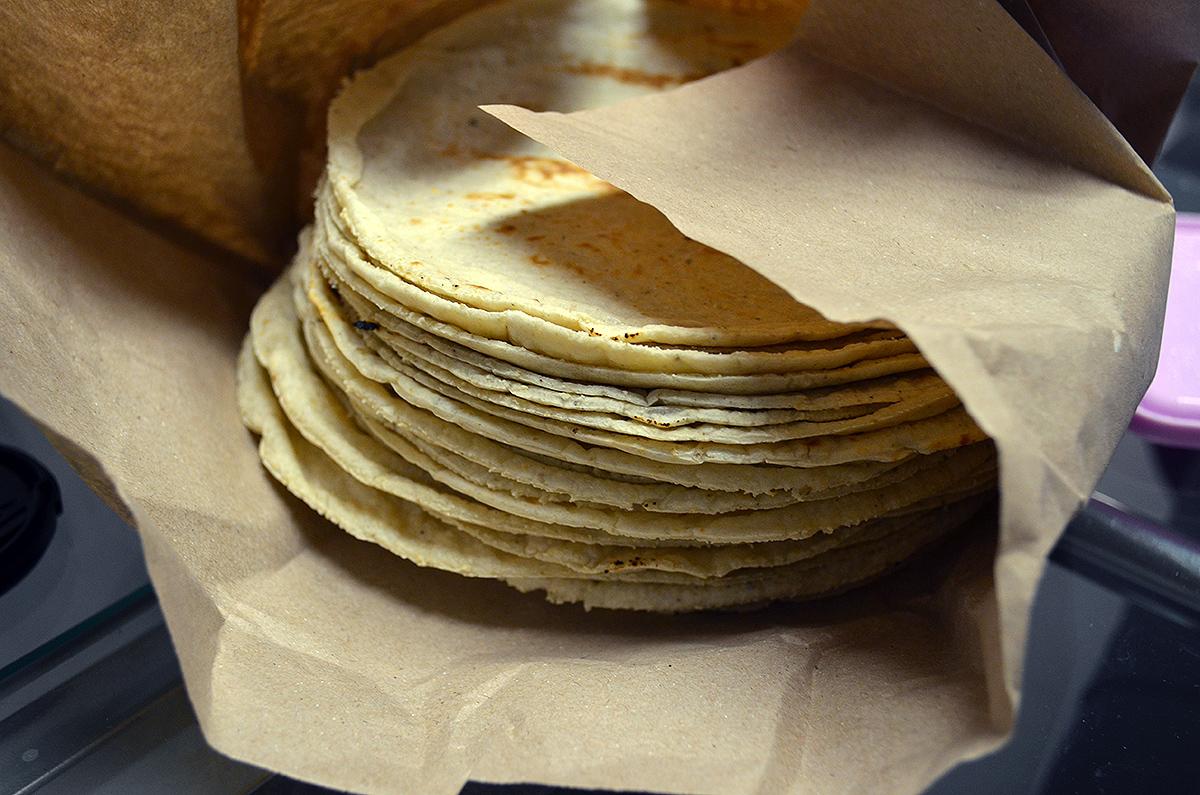El consumo de tortilla ha disminuido en casi 50%