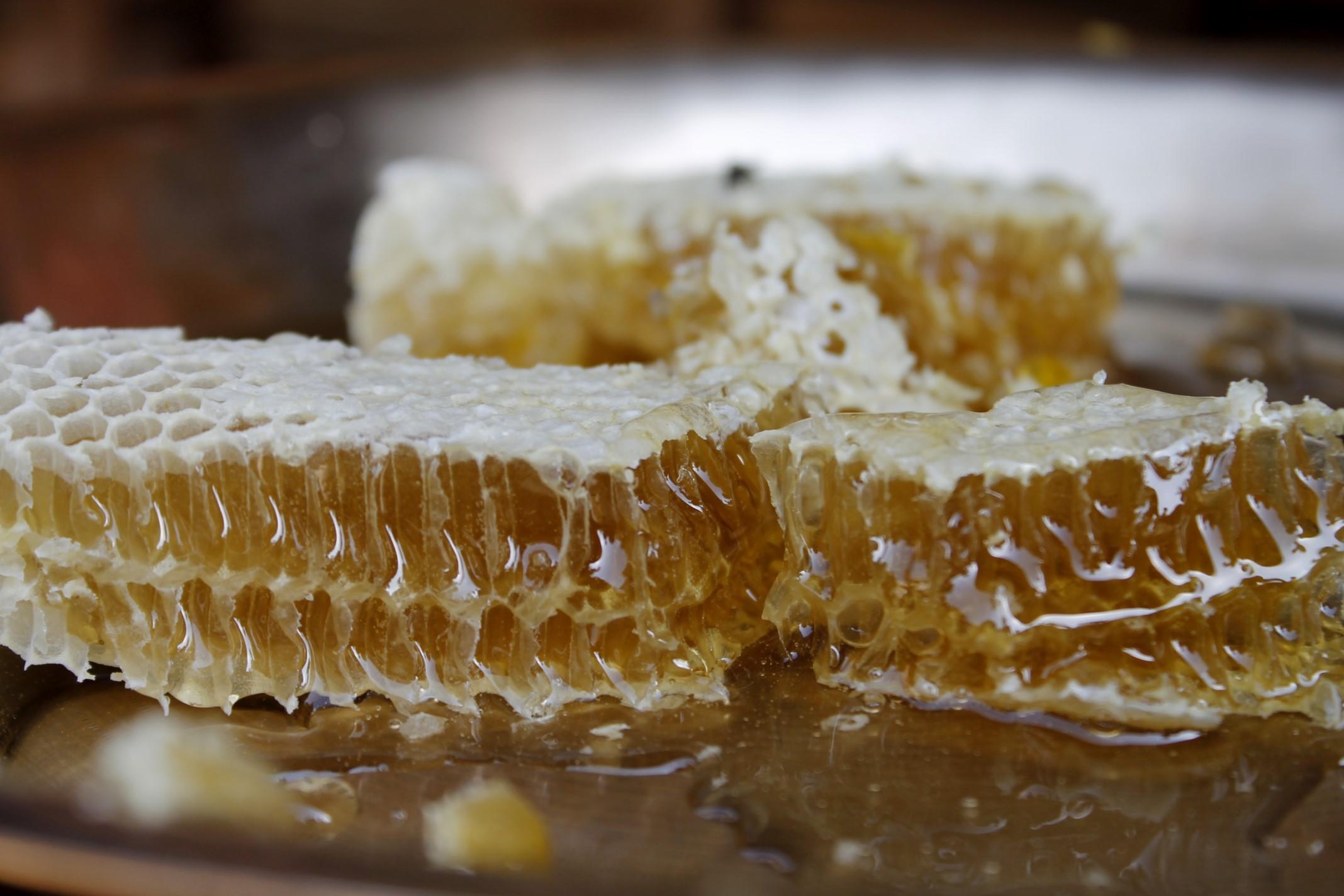 Miel, dulce y saludable miel