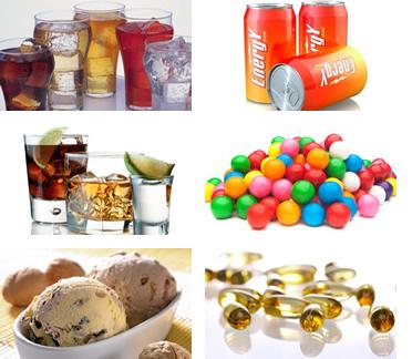 Ejemplos de suplementos alimenticios