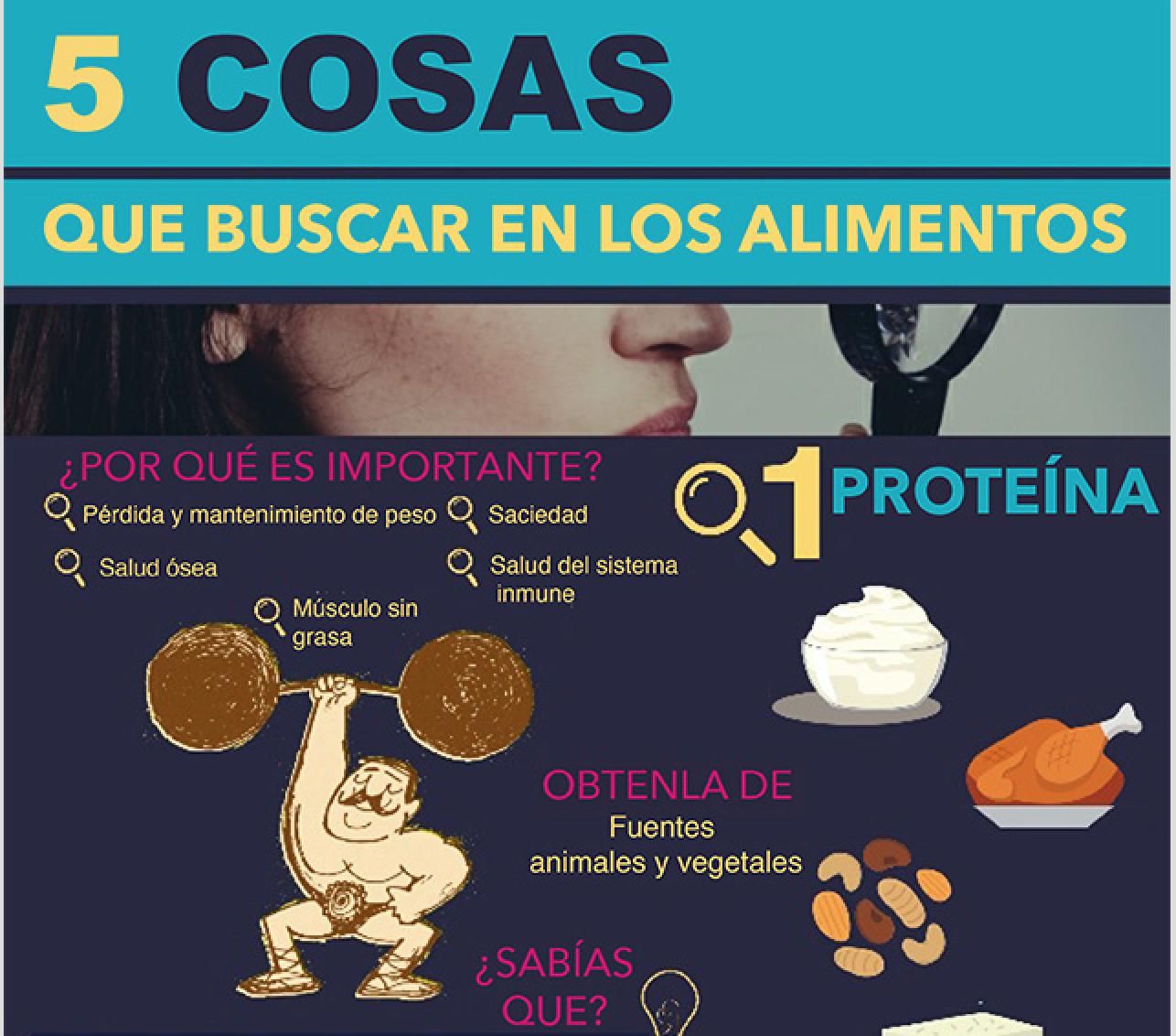 5 Cosas que buscar en los alimentos