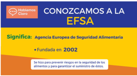 Conozcamos a la EFSA