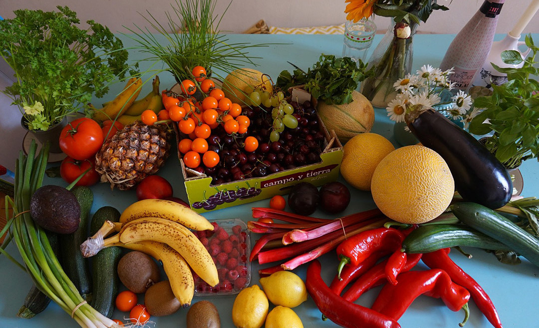 Frutas, verduras y antioxidantes