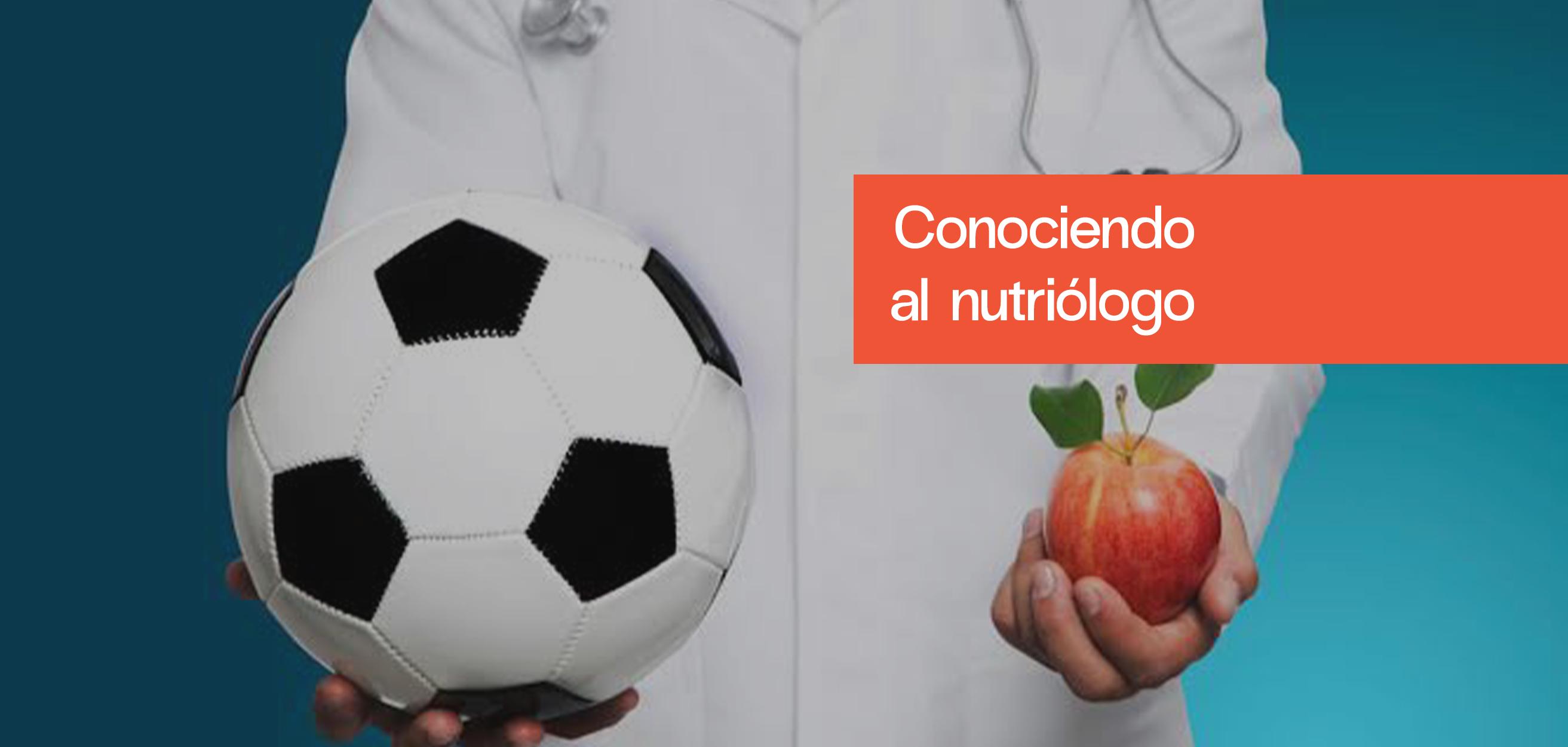 El nutriólogo y la nutrición deportiva