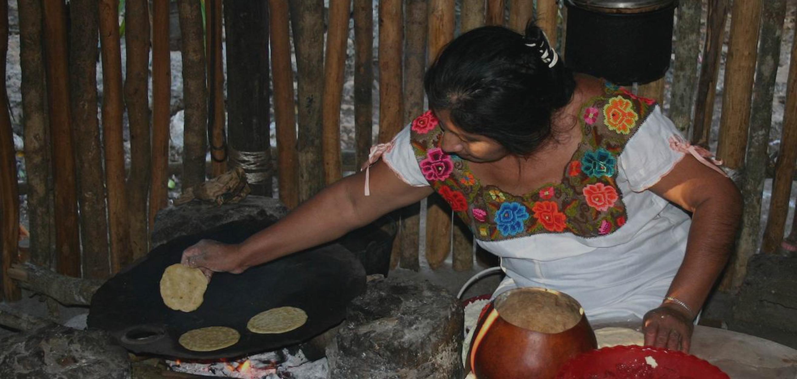 La cerámica indígena y la cocina